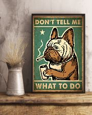 Pug Don't Tell Me 24x36 Poster lifestyle-poster-3