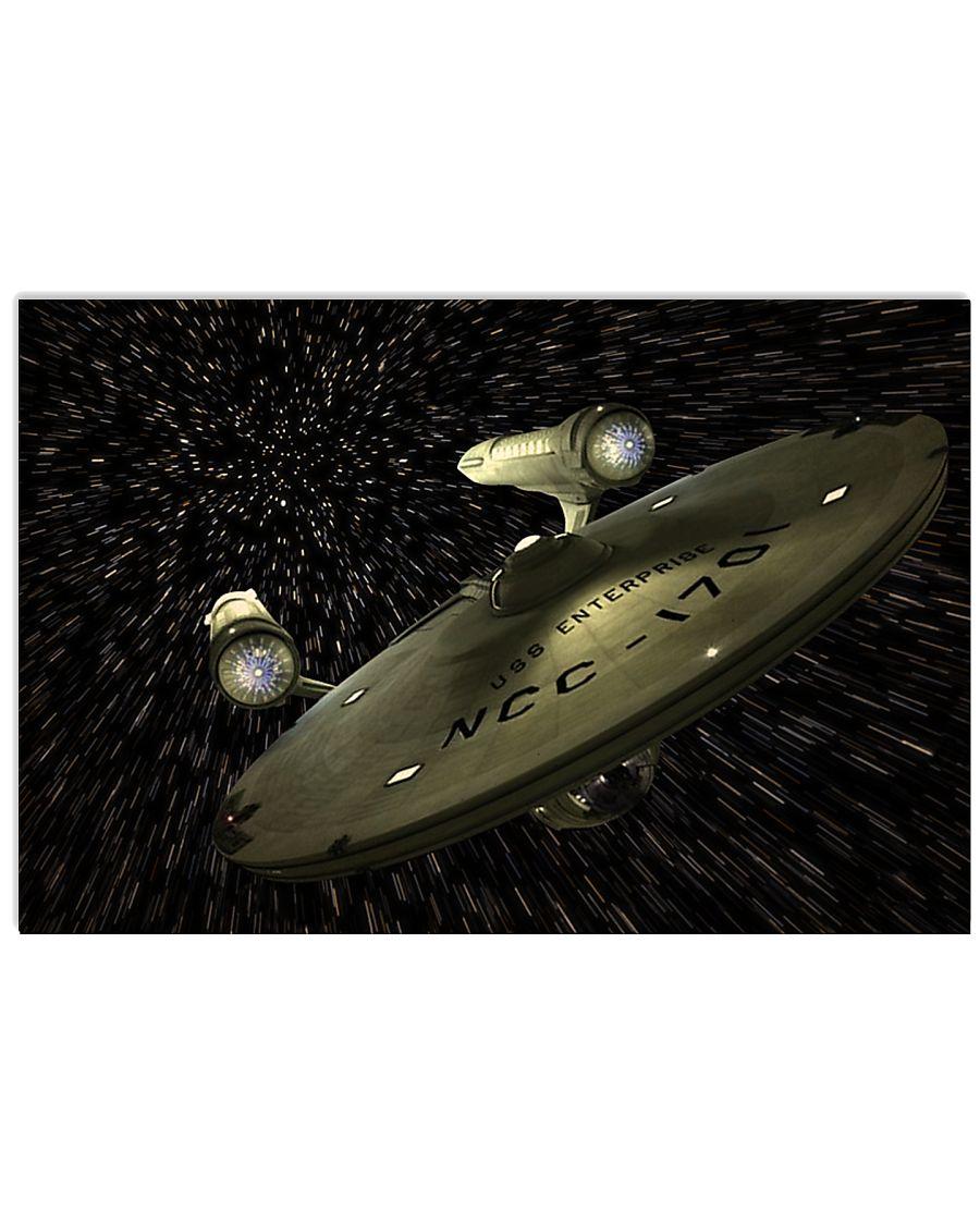 enterprise NCC 17x11 Poster