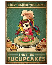 FU Cupcakes 24x36 Poster front