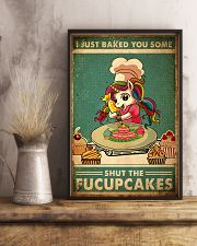 FU Cupcakes 24x36 Poster lifestyle-poster-3