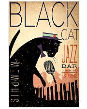 black cat 24x36 Poster front