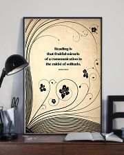 reading solitude 24x36 Poster lifestyle-poster-2