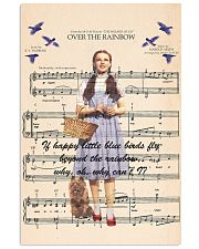 Girl and Music 24x36 Poster front