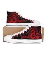 Dragon Shoes Women's High Top White Shoes thumbnail