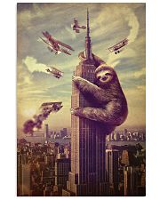 Sloth in City 24x36 Poster front