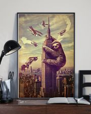 Sloth in City 24x36 Poster lifestyle-poster-2
