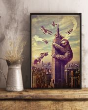 Sloth in City 24x36 Poster lifestyle-poster-3