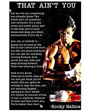 aint you poster 24x36 Poster front