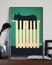 sleepy cat 24x36 Poster lifestyle-poster-2