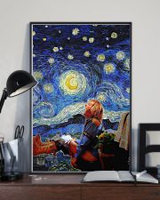 Old Man at Night 24x36 Poster lifestyle-poster-2