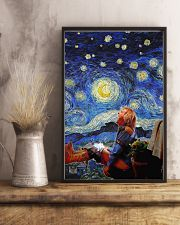 Old Man at Night 24x36 Poster lifestyle-poster-3