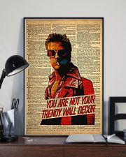 Trendy Man 24x36 Poster lifestyle-poster-2