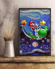 Van Gogh Art Mario 24x36 Poster lifestyle-poster-3