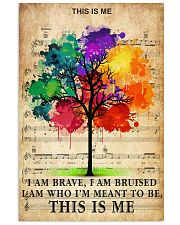 Colorful Tree 24x36 Poster front