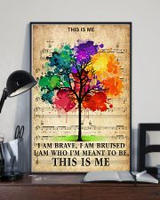 Colorful Tree 24x36 Poster lifestyle-poster-2
