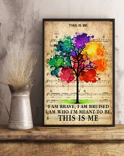 Colorful Tree 24x36 Poster lifestyle-poster-3