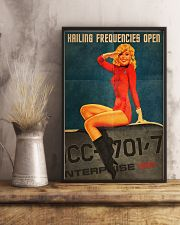Hailing Lady 24x36 Poster lifestyle-poster-3