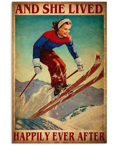 Skiing Happily