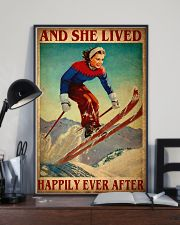 Skiing Happily 24x36 Poster lifestyle-poster-2