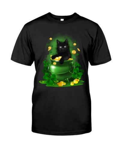 cat shamrocks