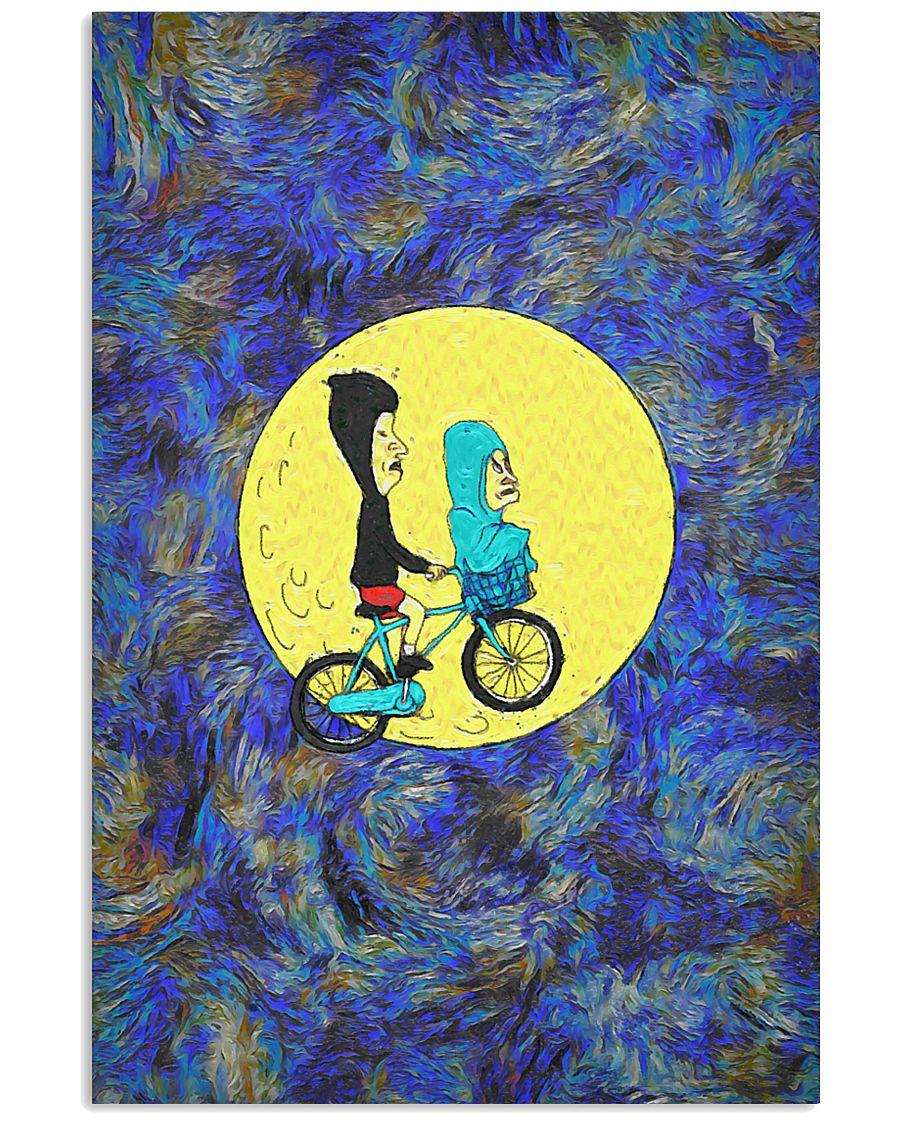 Bikemoon poster 24x36 Poster