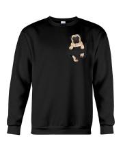 pug kiung love Crewneck Sweatshirt thumbnail
