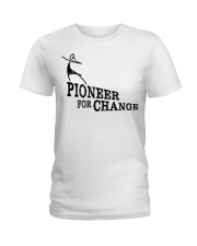 PIONEERS IN SKIRTS the movie  Ladies T-Shirt tile