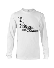PIONEERS IN SKIRTS the movie  Long Sleeve Tee tile