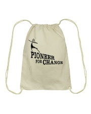 PIONEERS IN SKIRTS the movie  Drawstring Bag thumbnail