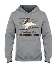 Anatomy of a French Bulldog Hooded Sweatshirt thumbnail