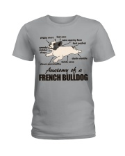 Anatomy of a French Bulldog Ladies T-Shirt thumbnail