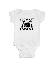 Frenchie I do what i want T Shirt Onesie thumbnail