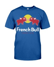 French Bulldog Energy Dog T Shirt Classic T-Shirt front