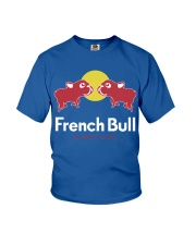 French Bulldog Energy Dog T Shirt Youth T-Shirt thumbnail