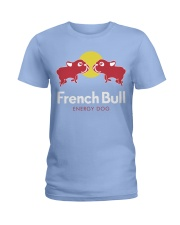 French Bulldog Energy Dog T Shirt Ladies T-Shirt thumbnail