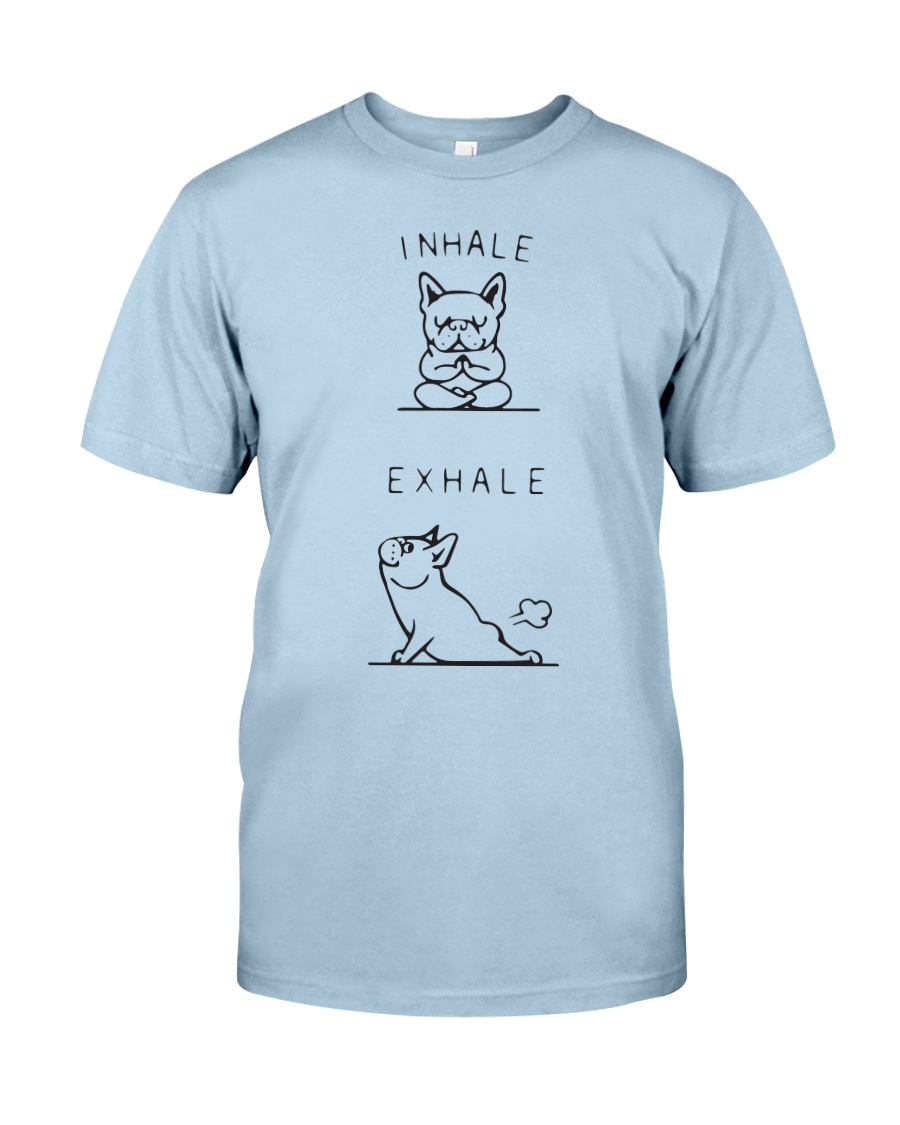 Yoga French Bulldog Classic T-Shirt