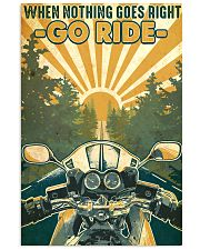 Motorcycle Go Ride 24x36 Poster front