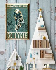 When nothing goes right go cycle 24x36 Poster lifestyle-holiday-poster-2