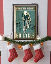 When nothing goes right go cycle 24x36 Poster lifestyle-holiday-poster-4