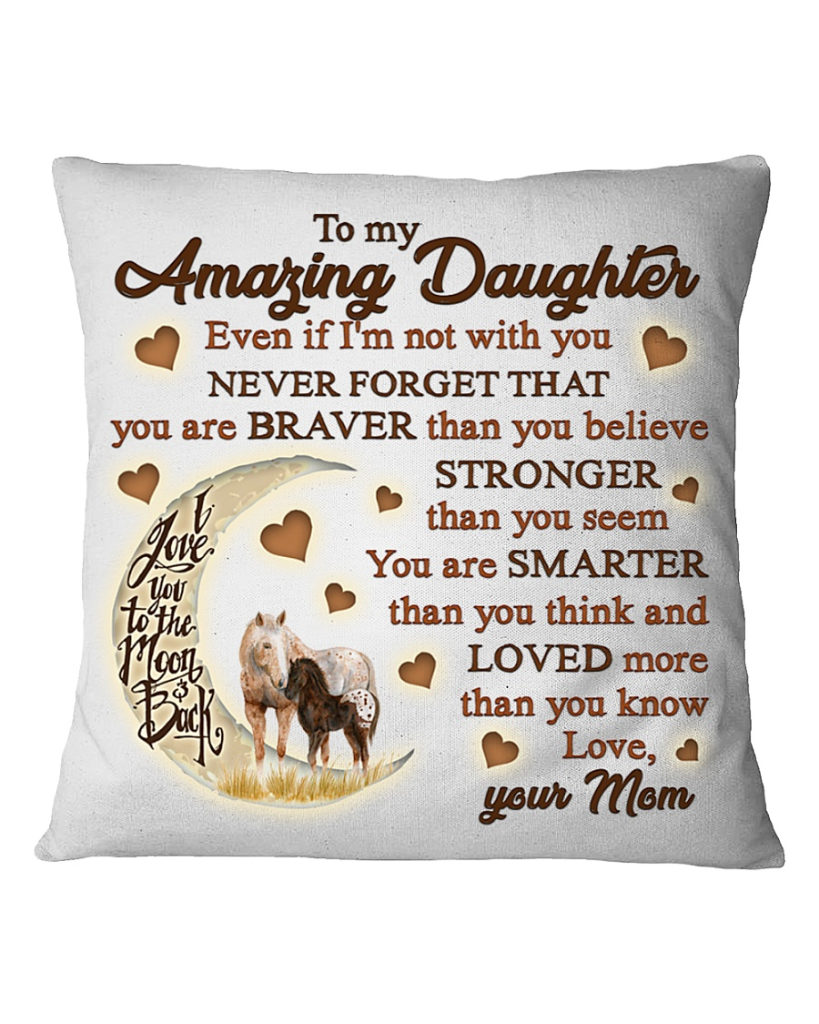 Horse Moon Mom To Daughter