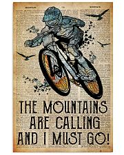 Mountain are calling and i must go 24x36 Poster front