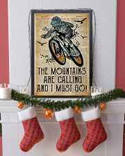 Mountain are calling and i must go 24x36 Poster lifestyle-holiday-poster-4