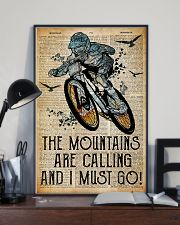 Mountain are calling and i must go 24x36 Poster lifestyle-poster-2