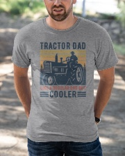 Tractor Dad Like A Regular Dad But Cooler Classic T-Shirt apparel-classic-tshirt-lifestyle-front-50