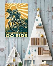Mountain Bike Go Ride 24x36 Poster lifestyle-holiday-poster-2