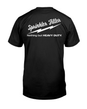 Sprinkler Fitter Classic T-Shirt back