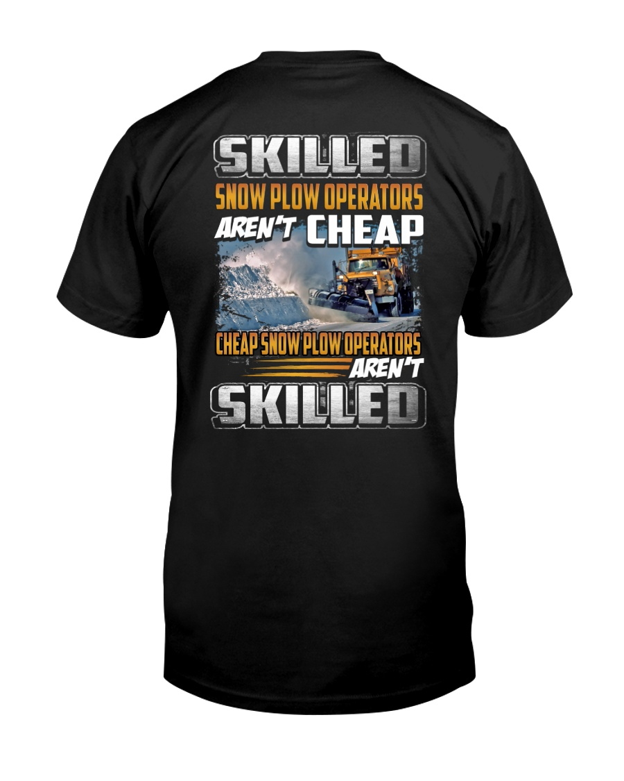 Snow Plow Operators Classic T-Shirt