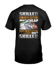 Special Shirt - Concrete cutters Classic T-Shirt back