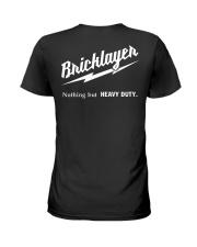 Special Shirt - Bricklayer Ladies T-Shirt thumbnail