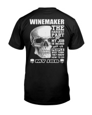 Special Shirt - Winemaker Classic T-Shirt back